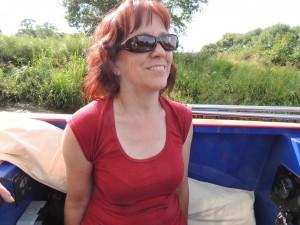 Ruth Hewitt. Relaxed...